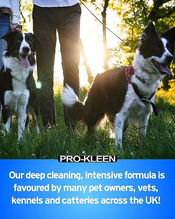 Pro-Kleen Kennel Kleen - Limpiador y desodorizador (Fragancia limón) - Paquete de 5 litros: Amazon.es: Productos para mascotas