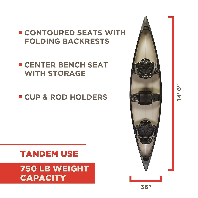 Old Town Saranac 146 Canoe – For Big & Heavy People