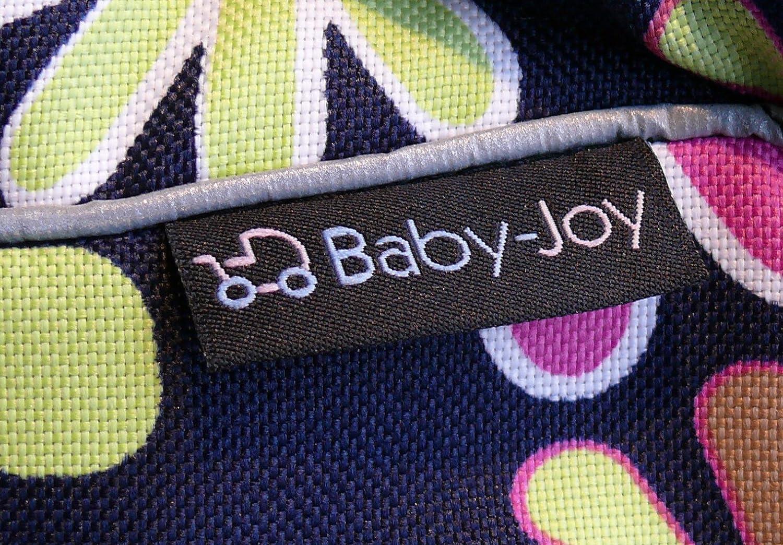 TP-02 Wickeltasche PIA von Baby-Joy XXXL /Übergr/ö/ße Schwarz Wei/ß Blumen Windeltasche Pflegetasche Babytasche Tragetasche