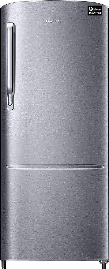 Samsung 212 L 3 Star Inverter Direct Cool Single Door Refrigerator RR22T272YS8/NL, Elegant Inox  Refrigerators