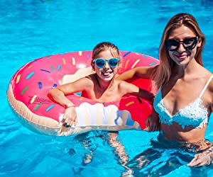 Sweepstakes - Gigantic Donut Pool Float Inflatable...