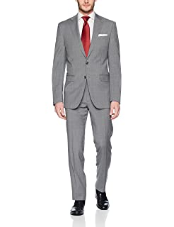 Calvin Klein Mens Slim Fit Stretch Wool Suit at Amazon ...
