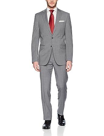 97b9cc79fc4f9 Calvin Klein Men s Slim Fit Wool Suit at Amazon Men s Clothing store