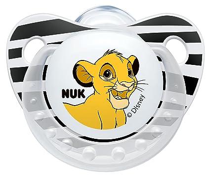 NUK Trendline 10175119 Disney Lion King forma anatómica NUK chupete ...