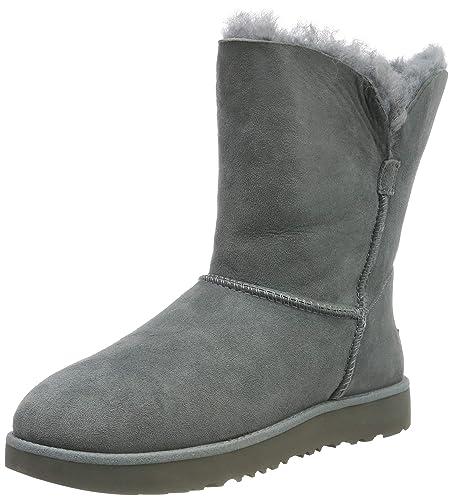 États Unis style top super qualité Ugg® Classic Short Cuff Femme Boots Gris: Amazon.fr ...