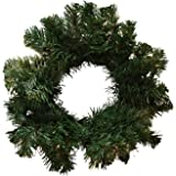 "Allstate 12"" Deluxe Windsor Pine Artificial Christmas Wreath - Unlit"