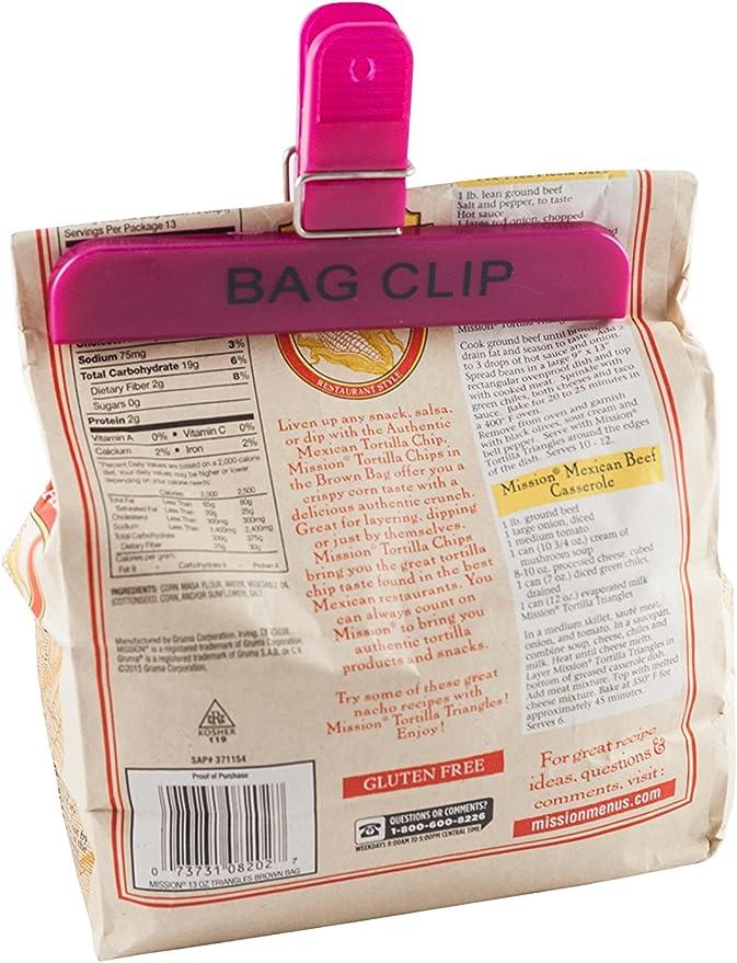 Lami bolsa de plástico Clips varios tamaños (6 Clips en total ...