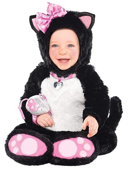 42c18f3ebe9b Amscan - Costume da gattina Bambina, 6-12 mesi: Amazon.it: Giochi e ...