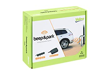 Valeo 632200 Beep&Park - Sensores de aparcamiento para coche, 4 sensores delanteros o traseros