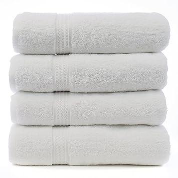 Luxury Hotel   Spa Bath Towels 100  Cotton Dobby Border Set. Amazon com  Luxury Hotel   Spa Bath Towels 100  Cotton Dobby