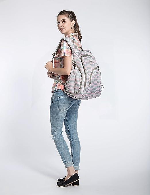ECOSUSI Diaper Backpack Fully-opened Baby Diaper Bag