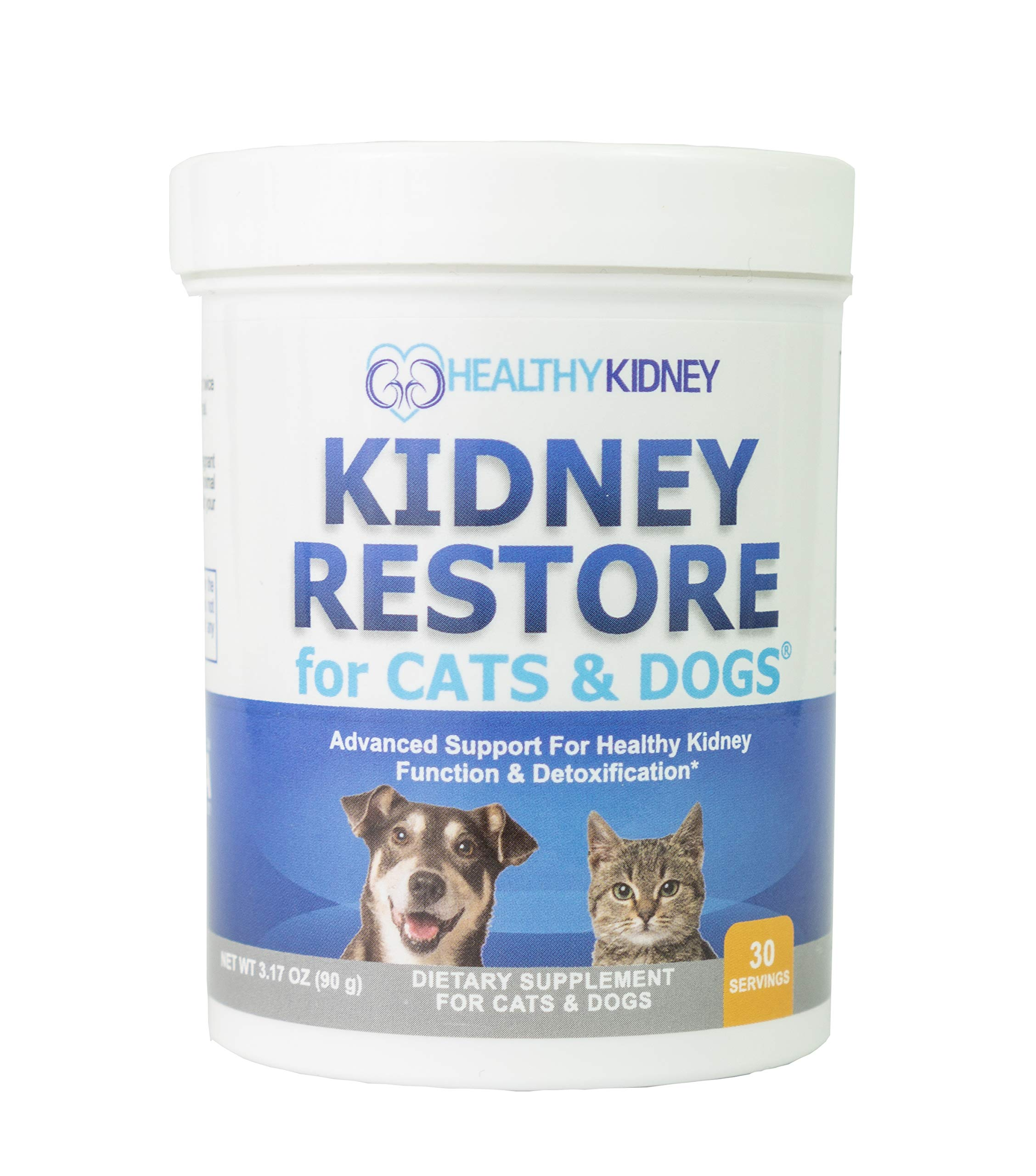 Cat and Dog Kidney Support, Natural Renal Supplements to Support Pets, Feline, Canine Healthy Kidney Function and Urinary Track. Essential for Pet Health, Pet Alive, Easy to Add to Cats and Dogs Food by Kidney Restore
