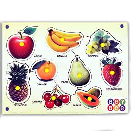 Bey Bee Educational Toys Fruits Learning Kits