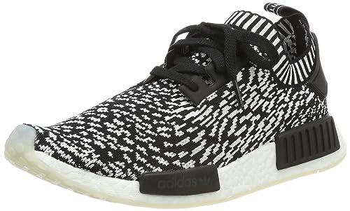 kod promocyjny Data wydania: przystępna cena Amazon.com | adidas NMD R1 Prime Knit BY3013 Zebra | Shoes