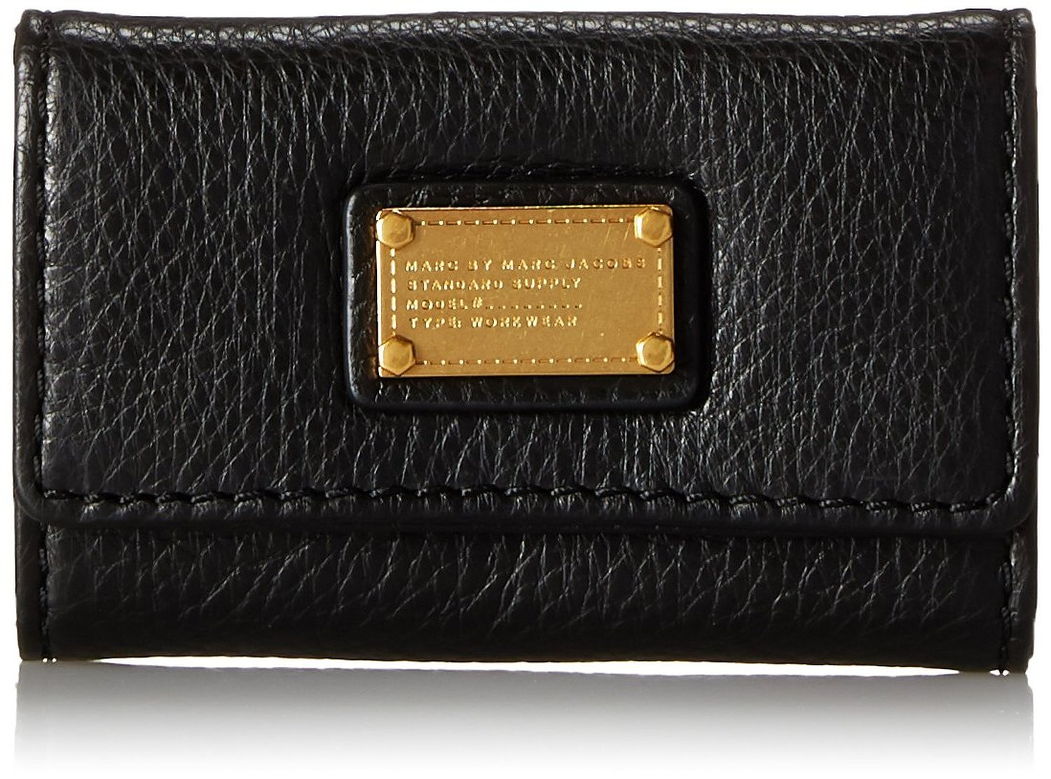 Marc by Marc Jacobs Classic Q Key Case Coin Purse, Black, One Size by Marc by Marc Jacobs