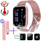 Amazon.com: AGPTEK Bluetooth Smartwatch for Women, Sport ...