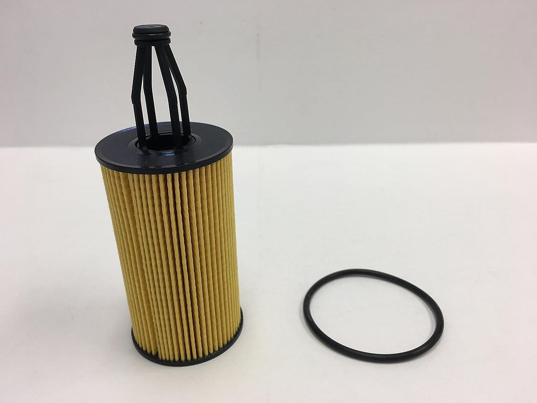 Premium Oil Filter for Mercedes Benz S550 SL550 SLK350 V6 V8 2012-2015 Pack of 2