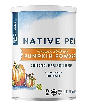 Amazon.com: Native Pet calabaza orgánica para perros (8 oz ...