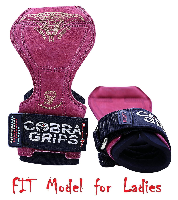予約販売 (グリップパワーパッド) Grip FIT Power Pads®コブラグリッププロ ウェートリフティング用手袋 パワーリフティングフックに代わる頑丈なストラップ デッドリフト用 FIT 調節ネオプレンパッド入りリストラップサポート ボディビル向け Red B071156PPK FIT Red Leather FIT Red Leather, 消火器非常食防災 くらし館:53ce58c2 --- arianechie.dominiotemporario.com