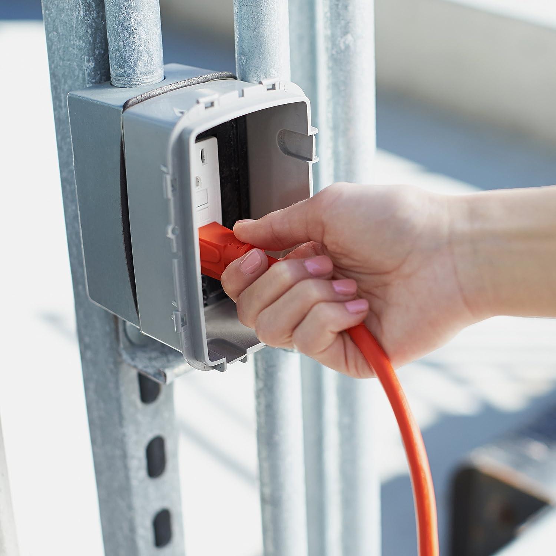 Basics 16/3 Vinyl Outdoor Extension Cord | Orange, 100-Foot - -
