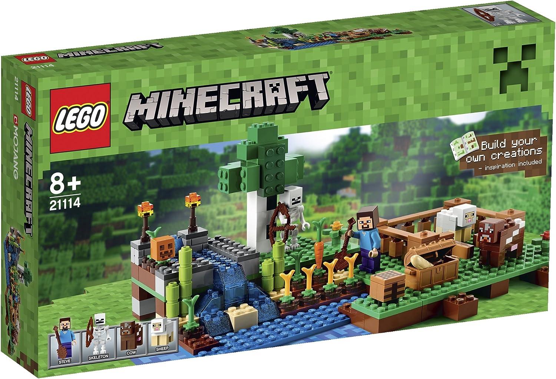 LEGO 21114 Minecraft - La granja, multicolor: Amazon.es: Juguetes ...
