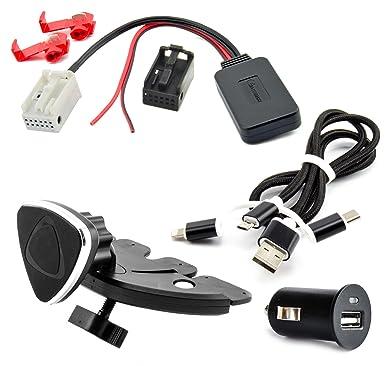 Bluetooth Music Audio Receiver Adapter For Bmw E81e82e87e88 E60