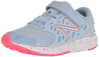 b19eac1ebfaf7 New Balance Girls' Urge V2 FuelCore Running Shoe, Pink zing, 13 XW US