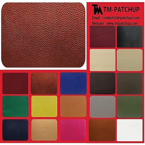 TMpatchup - Kit de parches de reparación de piel y vinilo ...