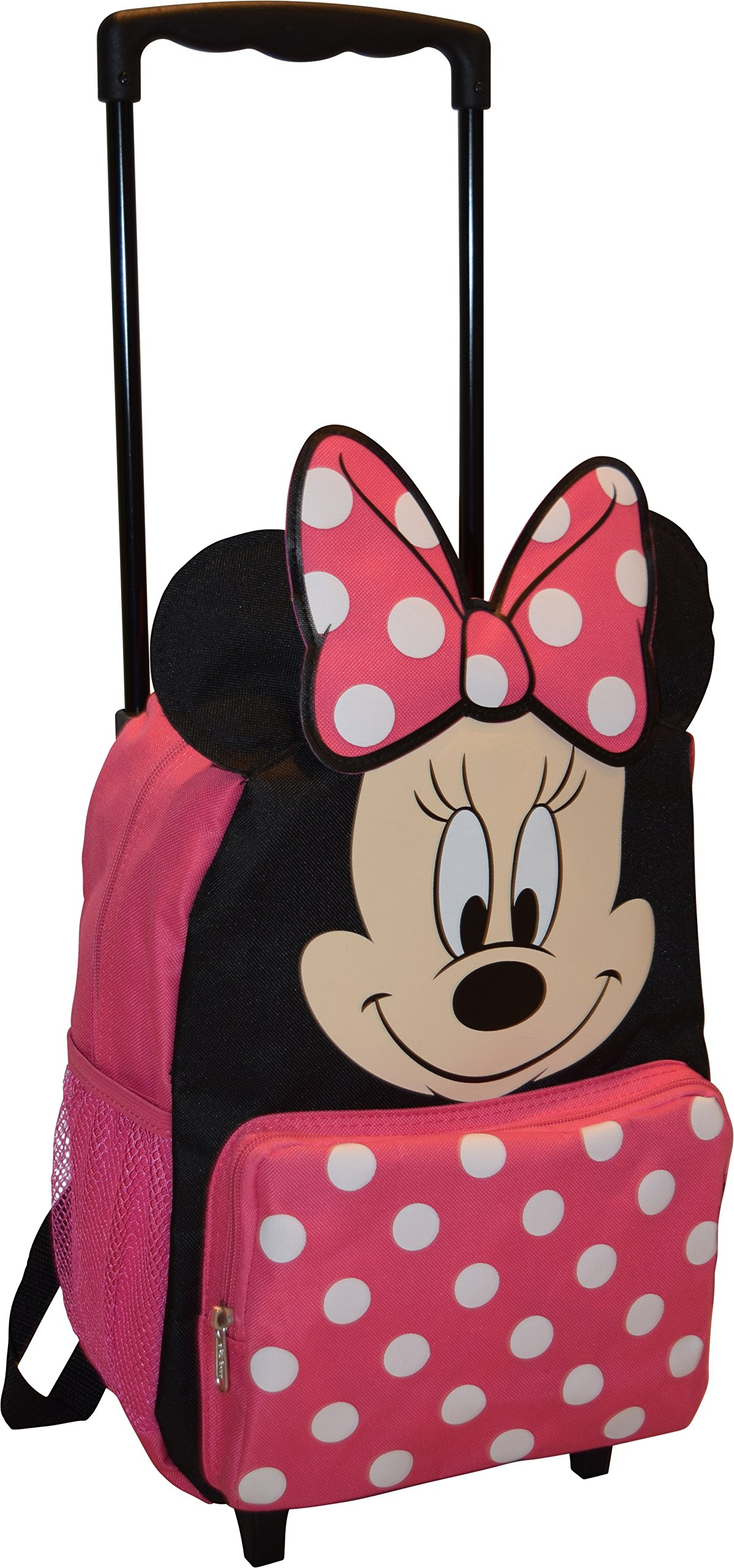 Disney Minnie Mouse 14'' Softside Rolling Backpack
