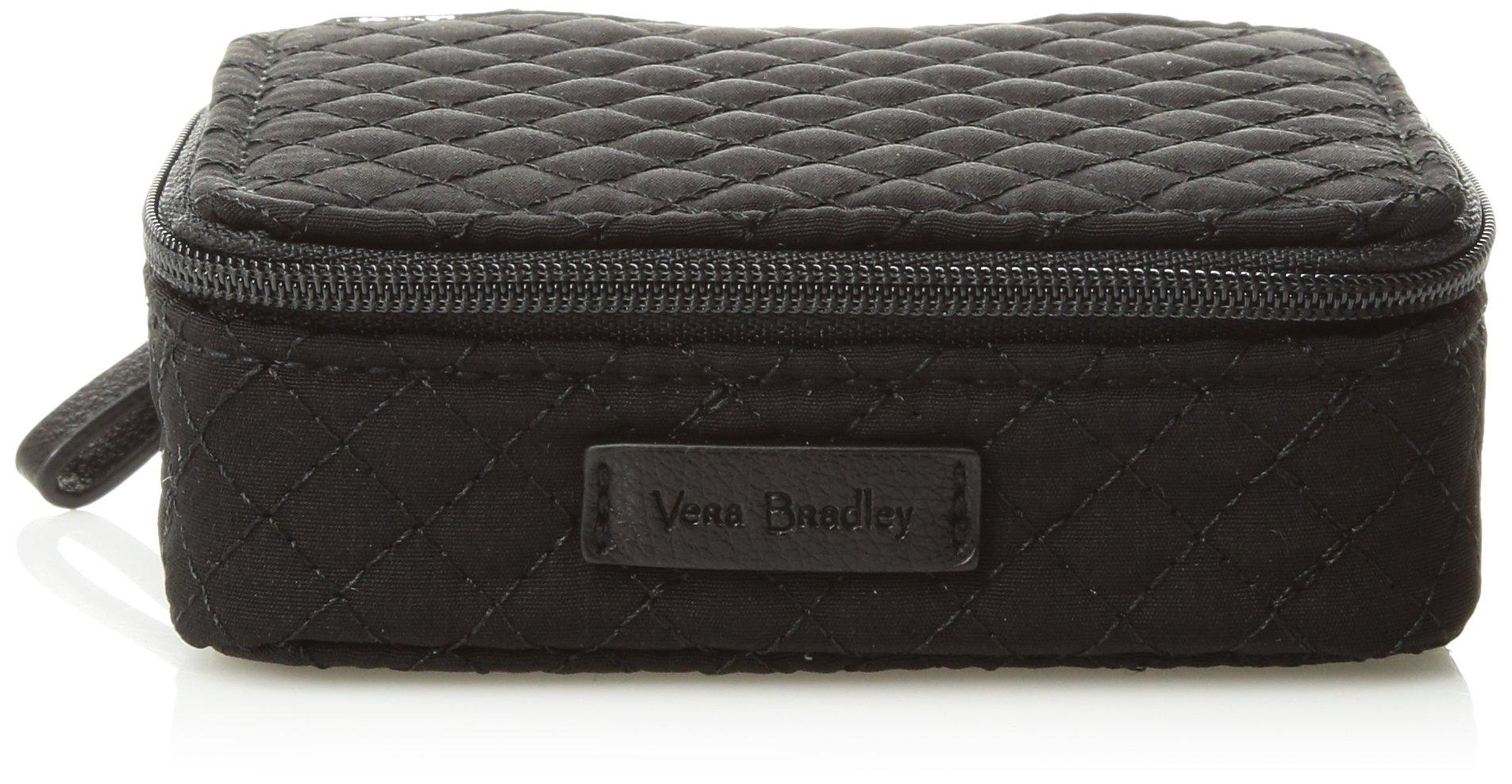 Vera Bradley Iconic Travel Pill Case Vv, Classic Black