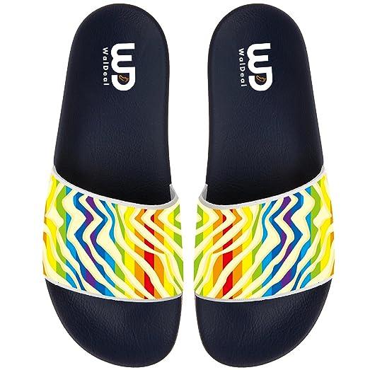 Fabulous Unicorn Slide Sandal For Men's Women Soft Bathroom Shower Beach Slippers Sandal