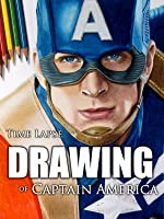 Clip: Time Lapse Drawing of Captain America