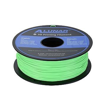ALUNAR 3D Impresora Filament PLA Fit para ALUNAR, Reprap Prusa, UP ...