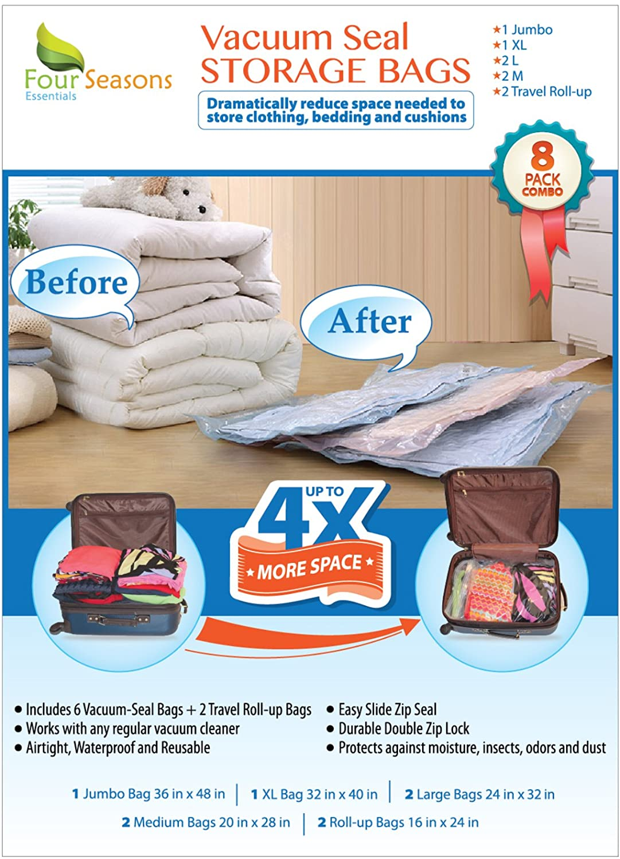 Vacuum Sealed Travel Bags Regreen Springfield