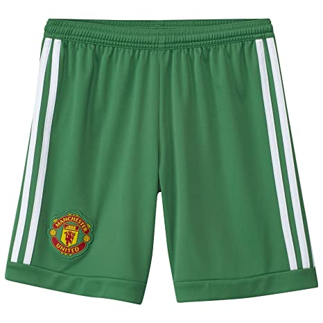 cc8baa486e2 Amazon.com : 2015-2016 Man Utd Adidas Home Goalkeeper Shorts (Kids ...