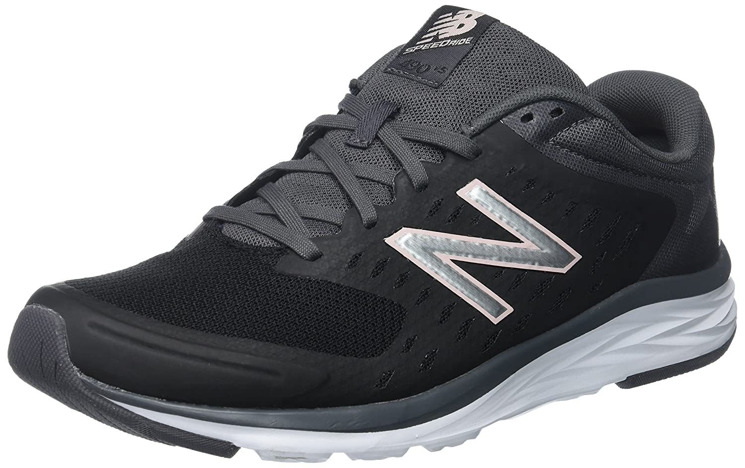 New Balance Women's 490V5 Running Shoe B01N1I1666 10.5 D US|Black/Magnet