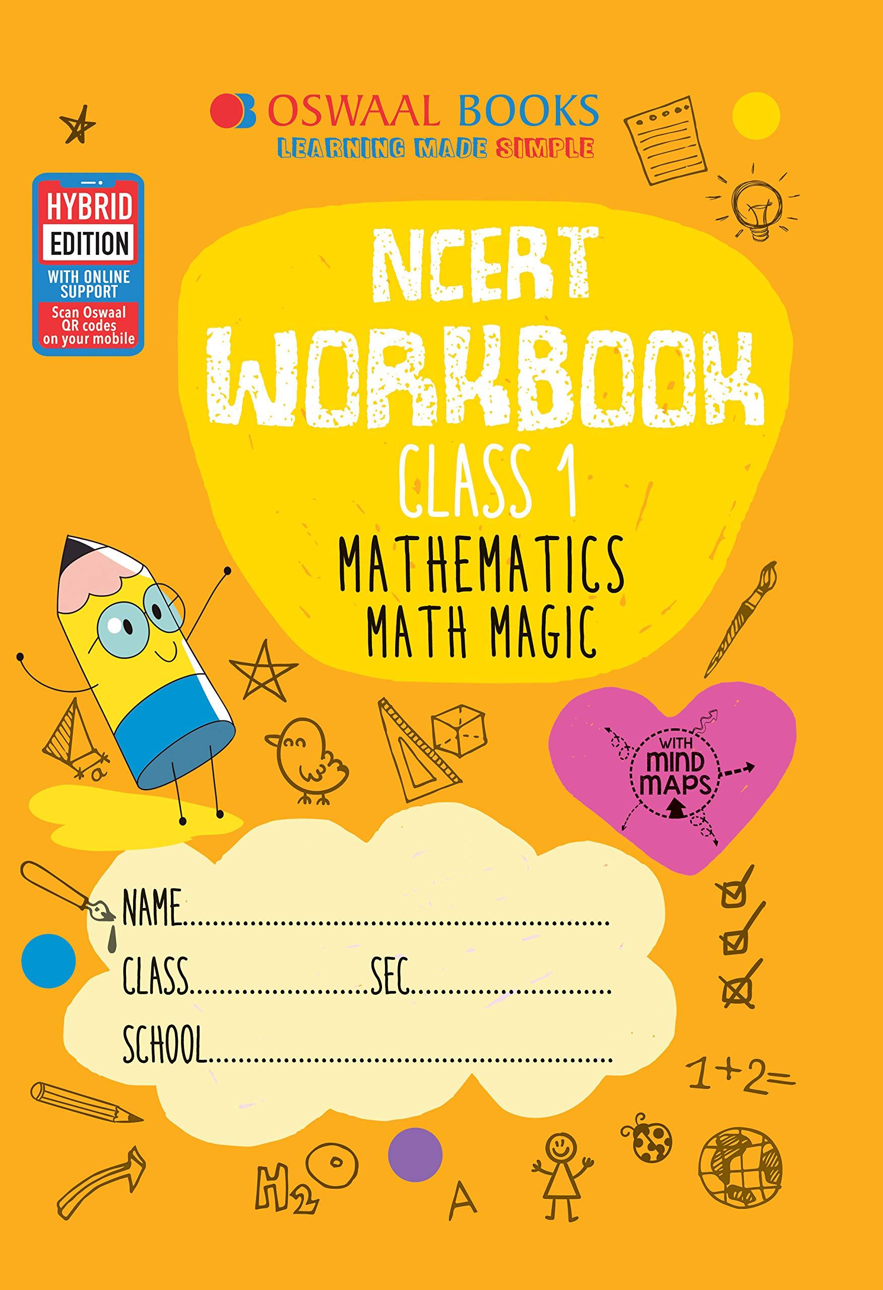 Oswaal Ncert Workbook Class 1 Mathematics Math Magic Book Amazon In Oswaal Books Learning Pvt Ltd Books