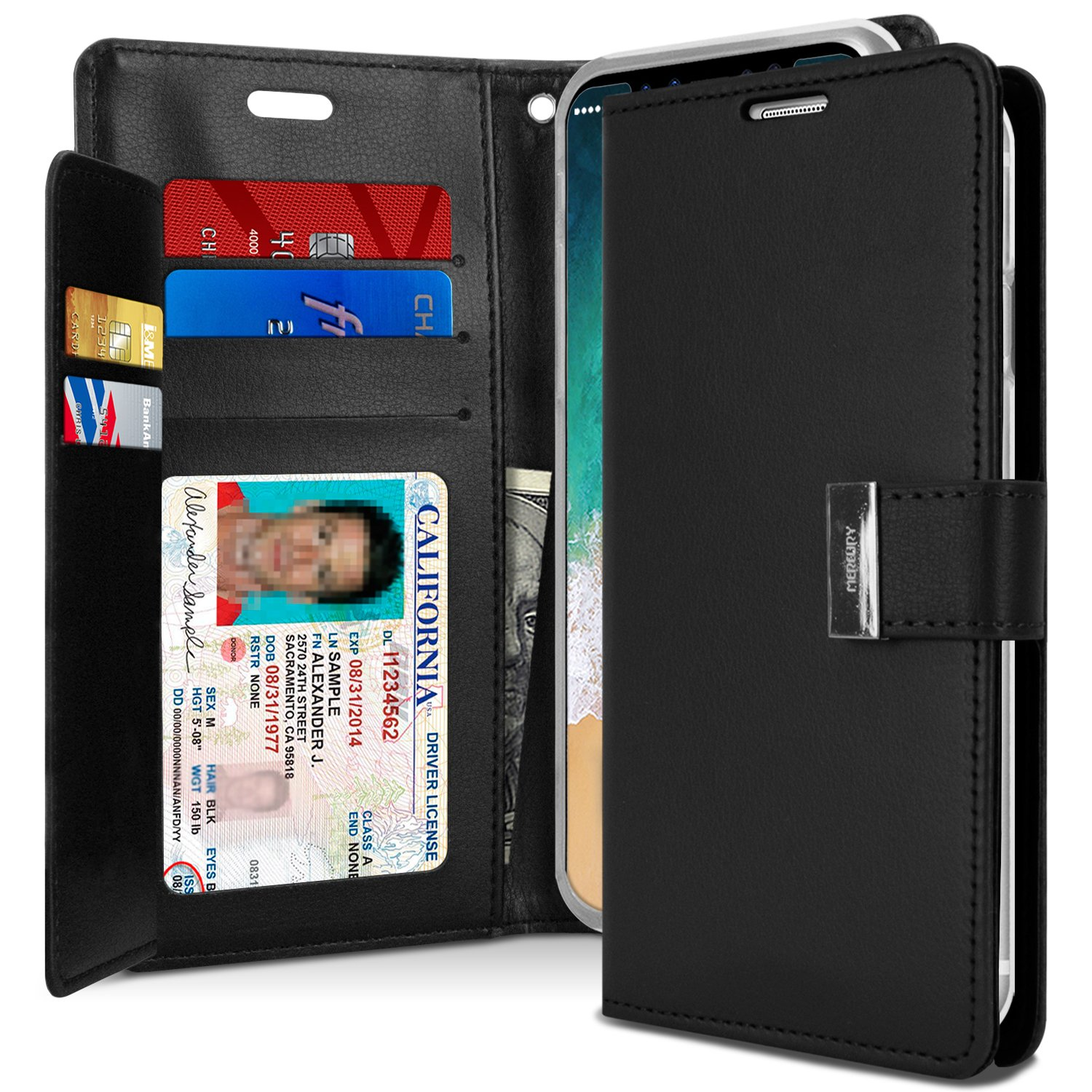Special Price Iphone X Case 10 Tri Fold Goospery Blue Moon Flip Mint Wallet Rich Diary Shock Absorption Premium Synthetic Leather Tpu