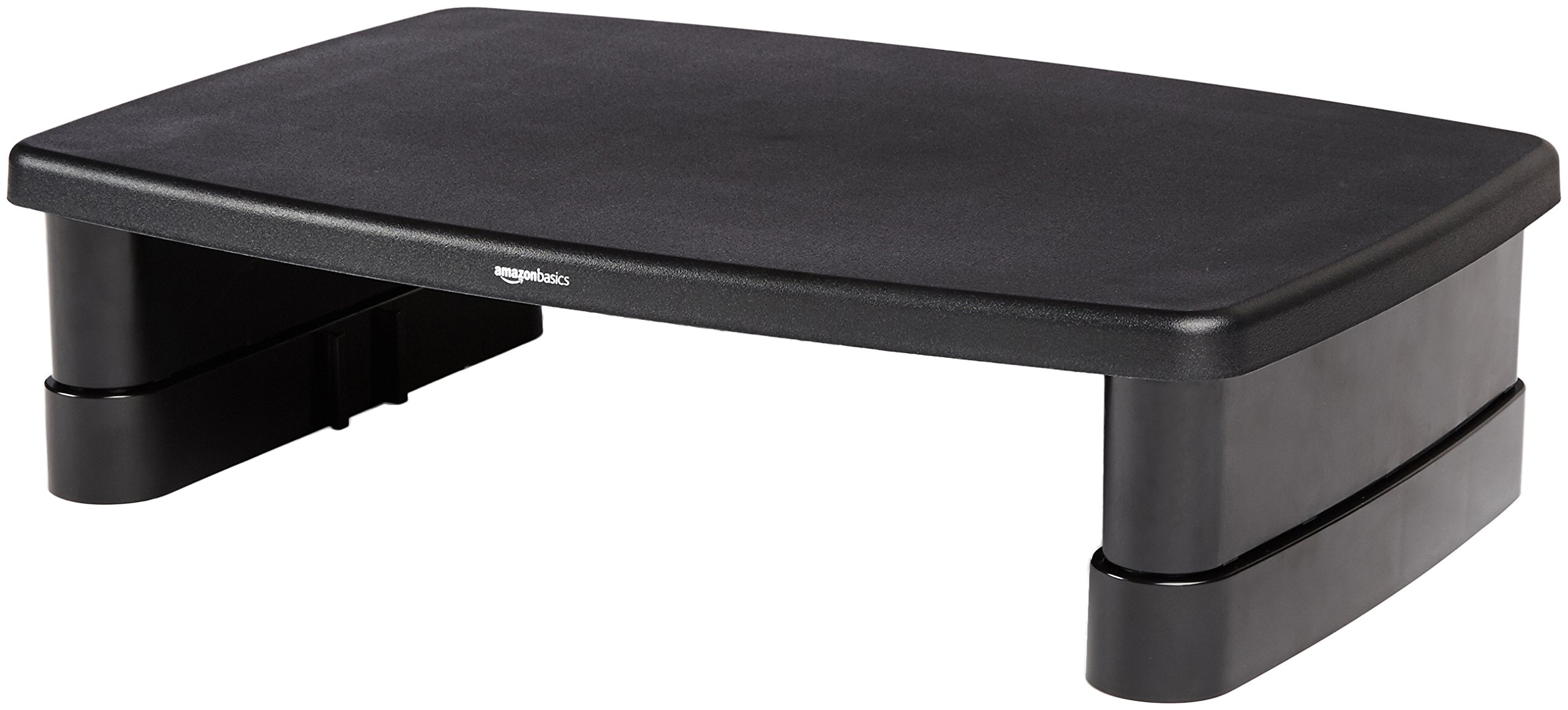 AmazonBasics Adjustable Computer Monitor Riser Desk Stand by AmazonBasics