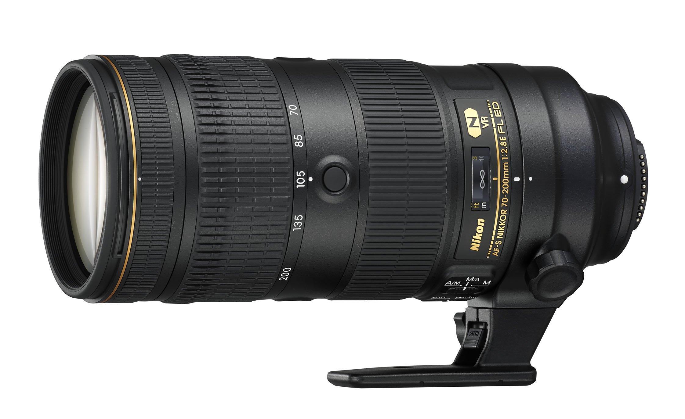 Nikon AF-S NIKKOR 70-200mm f/2.8E FL ED VR Lens by Nikon