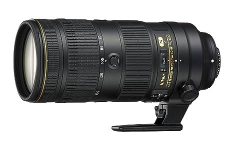 Nikon JAA830DAF - Objetivo para cámara réflex AF-S 70-200 F/2.8 FL ...