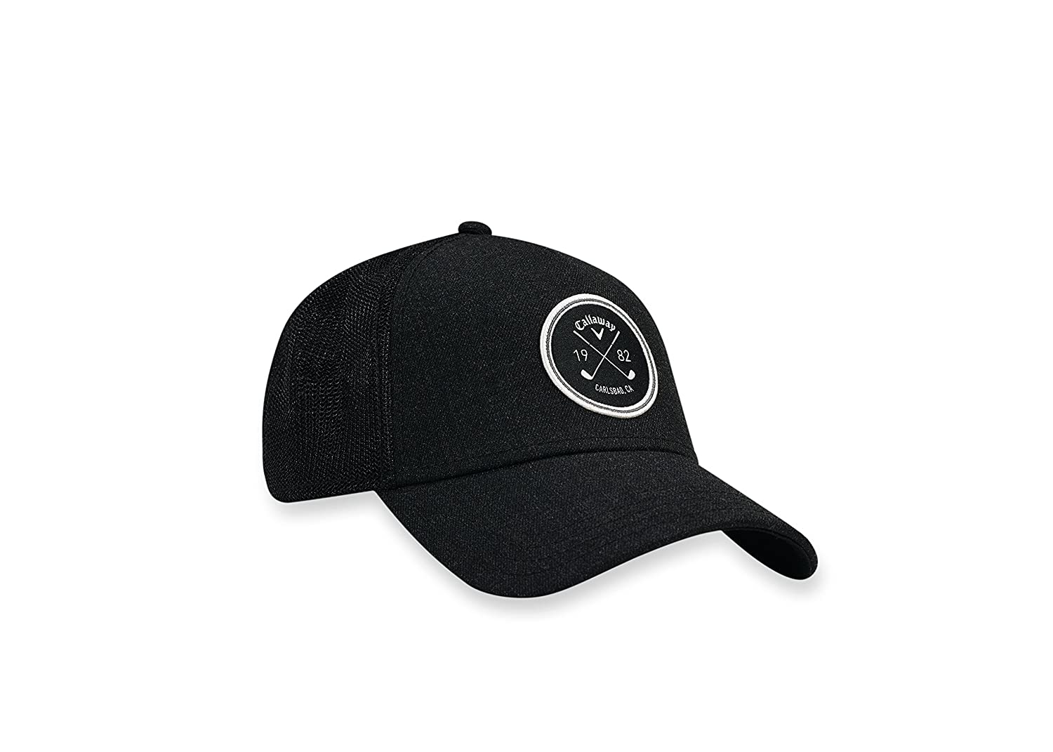 c0eebceb79c Amazon.com : Callaway 2017 Trucker Hat, Black, One Size : Sports & Outdoors