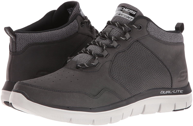 Amazon.com | Skechers Sport Mens Flex Advantage High Key 2.0 Mid Sneaker | Shoes