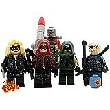 Veux Toys Green Arrow, Speedy, Black Canary,Deathstroke Deadshot Custom Minifigure /Action Figure Set of 5