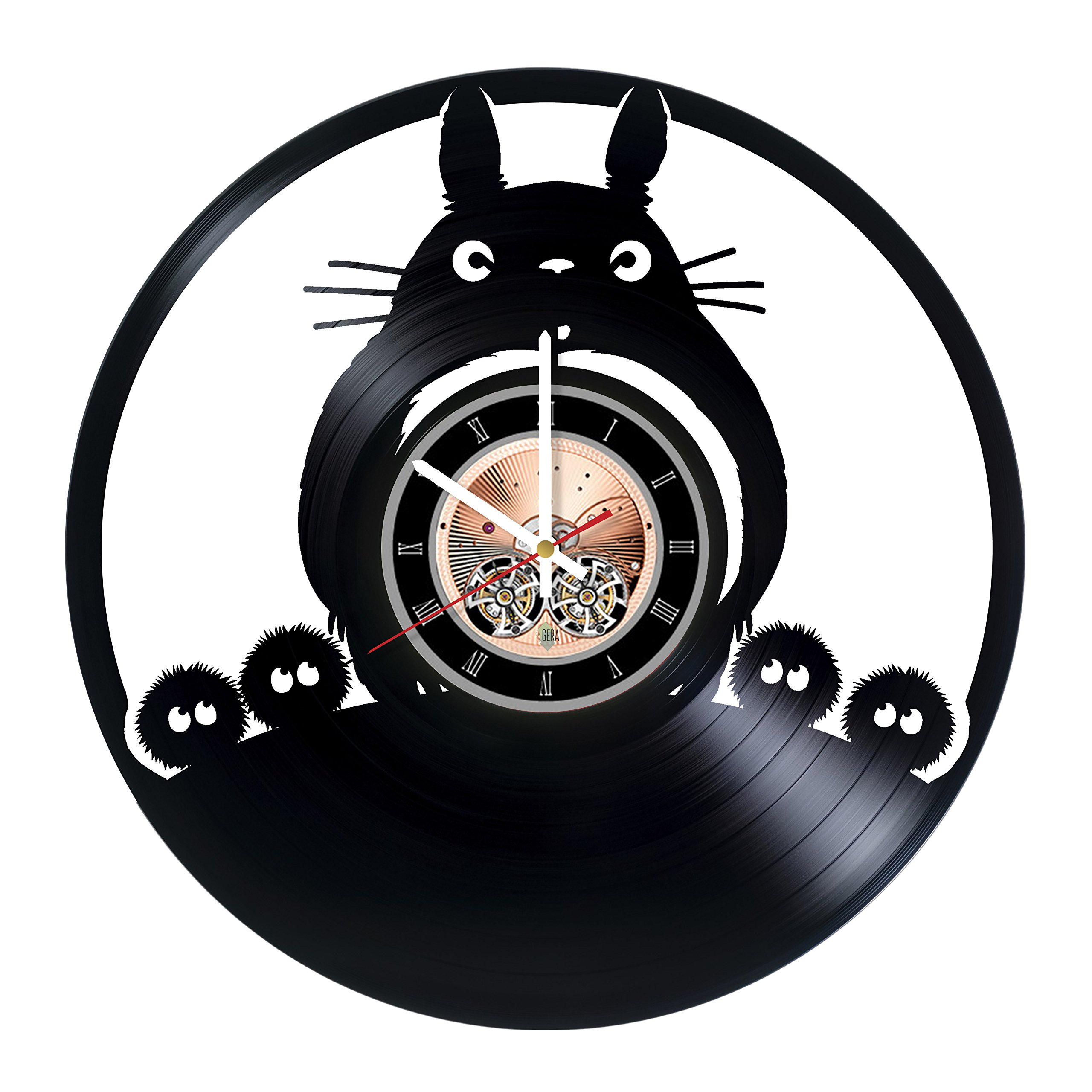Movie Collection Vinyl Record Wall Clock - Get unique Kids room wall decor - Gift ideas for children, teens, sister and brother – Fantasy Film Unique Art by Sofa Style