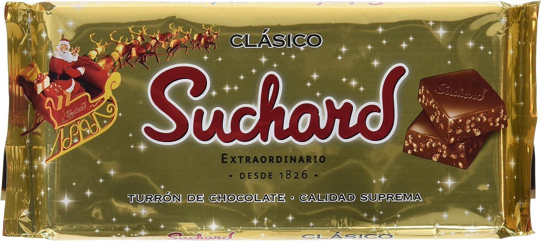 Suchard - Turrón de Chocolate Crujiente, 260 g - [Pack de 4]: Amazon.es: Alimentación y bebidas