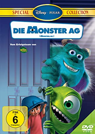 Die Monster Ag Special Collection Amazon De Peter Docter Dvd Blu Ray