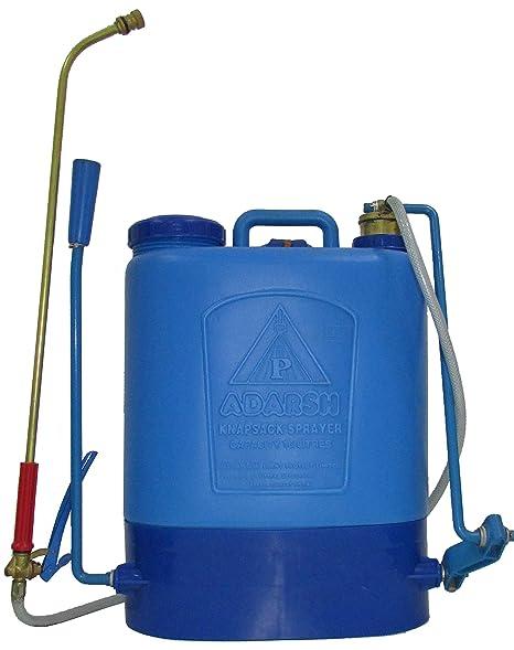 Adarsh Knapsack Agricultural Sprayer Plastic Tank 16 litres ANP-116 Model