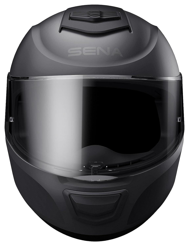 Bluetooth Helmet Dual XL size Full Face Momentum ECE Glossy White