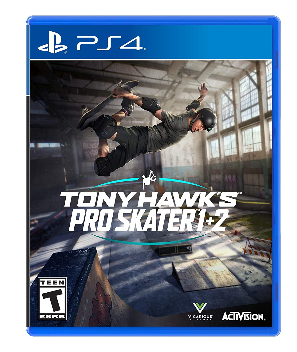 Amazon Com Tony Hawk S Pro Skater 1 2 Playstation 4 Activision Inc Activision Video Games